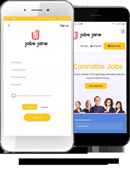 Image cannabis jobs Cannabis Jobs app jobs jane iphone